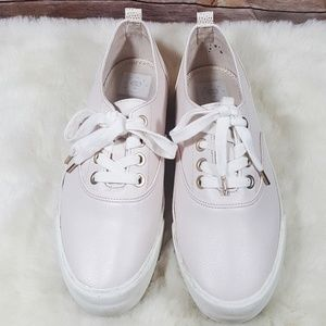 Bershka Shoes - Bershka Light Pink Lace-ups